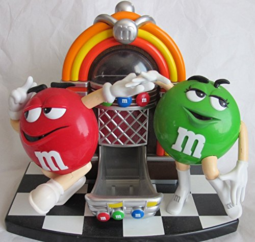 M&M's Toy Jukebox Candy Dispenser Green + Red M & M (Candy Toy Dispenser compare prices)