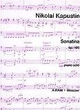 echange, troc Nikolai Kapustin - Sonatina Opus 100
