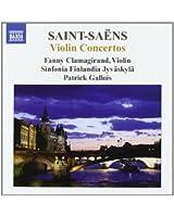 Saint-Saëns : Concertos pour violon