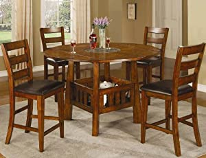 Lavista Counter Height Table Set - 102158 - Coaster Furniture