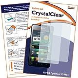 2 x mumbi Displayschutzfolie LG Optimus P720 3D Max Schutzfolie CrystalClear unsichtbar