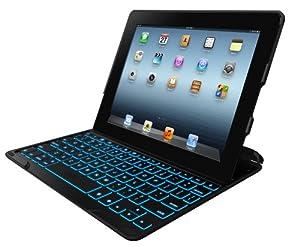 Zagg Keys Profolio Plus Case with Bluetooth Keyboard for iPad 2, iPad 3 and iPad 4 with Retina Display - Black
