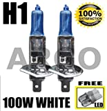 H1 100W XENON SUPER WHITE 448 HID HEADLIGHT BULBS MAZDA MX6