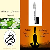 Arabian Jasmine Fragrance Oil .33 Oz (Fragrant Jasmine with Gentle Eastern Notes)