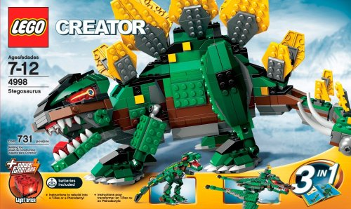 Lego Creator Stegosaurus Kit Review
