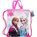 Disney Frozen Anna Elsa Girls Drawstr...