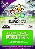 Xbox 360 - Live Points Card 1800 - im UEFA Euro 2012 Design (FIFA 12 Add-On nicht enthalten)