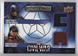 Winter Soldier; Captain America (Trading Card) 2016 Upper Deck Captain America: Civil War - Broken Bonds Dual Team Captain America #BBC-AB
