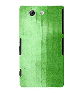 Green Old Wall Paint 3D Hard Polycarbonate Designer Back Case Cover for Sony Xperia Z4 Mini :: Sony Xperia Z4 Compact