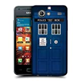 Head Case Police Box Telephone Booth Case For Samsung Galaxy S Advance I9070