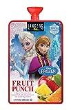 Langers Disney Frozen Fruit Punch 100% Juice Pouches, 6.75 Ounce