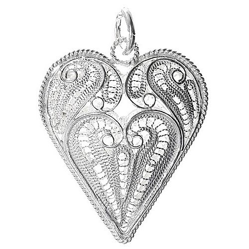 Large Silver Pendants (7510010000) - Scrapbooking supplies from