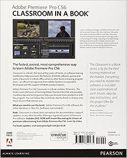 Cheapest Adobe Premiere Pro CS6 Classroom in a Book