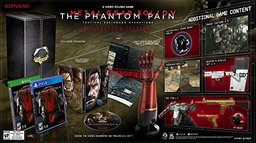 Metal Gear Solid V: The Phantom Pain - PlayStation 4 Collector's Edition (Metal Gear Solid 5 Phantom Pain compare prices)