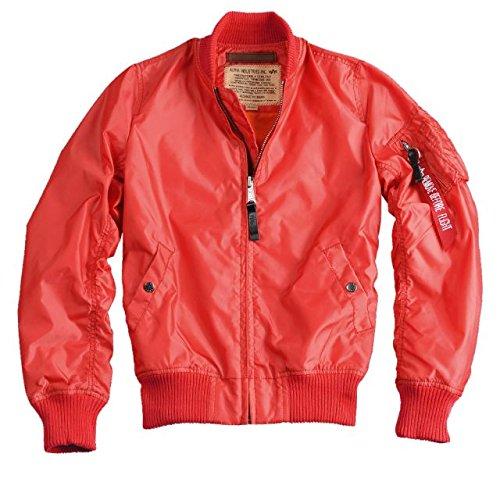 Alpha Ind. Frauen-Jacke MA-1 TT Wmn – spicy red jetzt bestellen