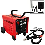 Dual 110/220V ARC Welder 200AMP Machine Fan Cooled Single Phase 10.7KVA 2 Wheels