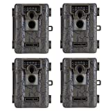 (4) MOULTRIE Game Spy A-5 Low Glow Infrared Digital Trail Hunting Cameras - 5 MP