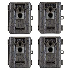 Buy (4) MOULTRIE Game Spy A-5 Low Glow Infrared Digital Trail Hunting Cameras - 5 MP by Moultrie