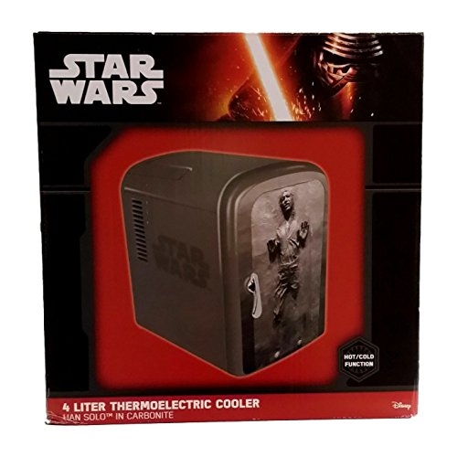 Star Wars New World Premier Han Mini Fridge (Mini Fridge 4 Liter compare prices)