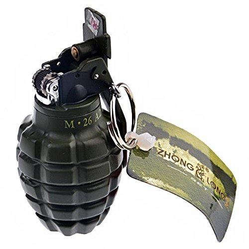 foxnovo-no-unverwechselbaren-granate-formigen-butan-feuerzeug-mit-wichtigen-schnalle-armee-grun