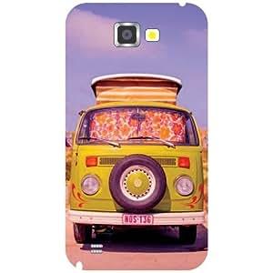 Samsung Galaxy Note 2 Truck Matte Finish Phone Cover - Matte Finish Phone Cover