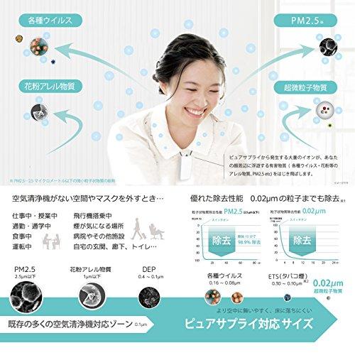 【日本製】パーソナル空気清浄機 PURE SUPPLY(ピュアサプライ) PS2WT