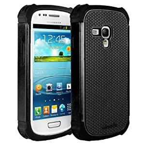 HHI Aero Armor Case for Samsung Galaxy S3 Mini - Black (Package include a HandHelditems Sketch Stylus Pen)