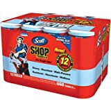 SCOTT- Shop Towels, 12 rolls