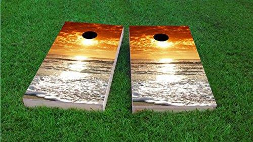 Custom-Cornhole-Boards-Beach-Sunset-2-Cornhole-Boards-Light-Weight-1-X-4
