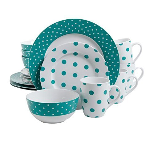 isaac-mizrahi-dot-luxe-16-piece-dinnerware-set-teal-by-gibson-overseas-inc