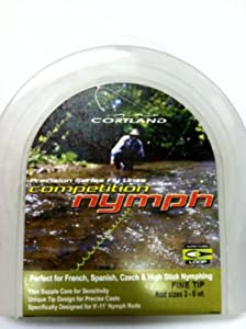 Cortland Competition Nymph Line 160 Grain #3-5 wt.