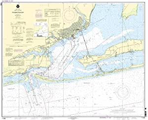 11383 pensacola bay fishing charts and maps for Pensacola bay fishing