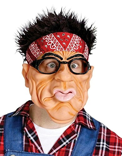 [Popcandy Fun World Weird Bandana Glasses Costume Funny Adult Mens Cool Man Redneck Mask] (Funny Weird Halloween Costumes)
