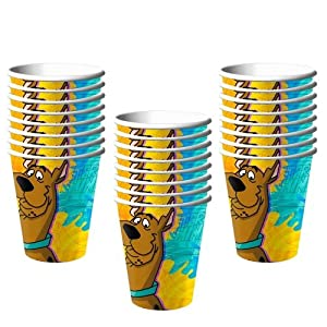 Scooby Doo Mod Mystery Party Cups 9 Oz-24 Pieces by Hallmark