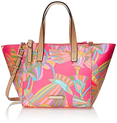 Trina Turk Poolside Satchel Top-Handle Bag
