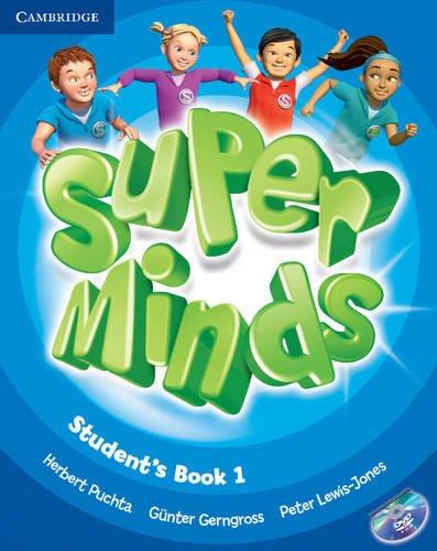 Super minds. Student's book. Con espansione online. Per la Scuola elementare. Con DVD-ROM: Super Minds  1 Student's Book with DVD-ROM
