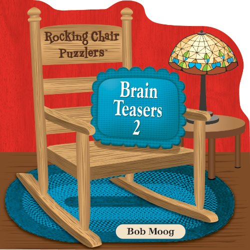 Spinner Books for Adults Rocking Chair Puzzlers Brain Teasers 2