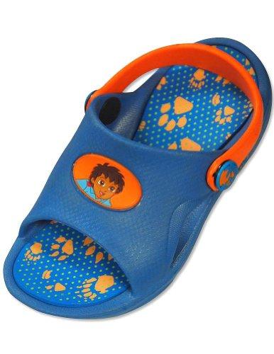 Nickelodeon - Toddler Boys Go Diego Go Sandal, Blue, Orange 30385-L9-10