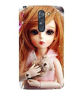 CUTE DOLL Designer Back Case Cover for LG G3 Stylus::LG G3 Stylus D690N::LG G3 Stylus D690