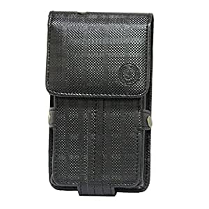 Jo Jo A6 D4 Series Leather Pouch Holster Case For mPhone 7 PlusBlack