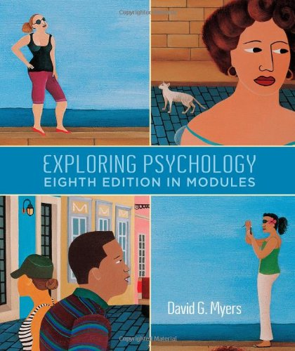 Exploring Psychology, Eighth  Edition, In Modules (Psychology Myers Modules compare prices)