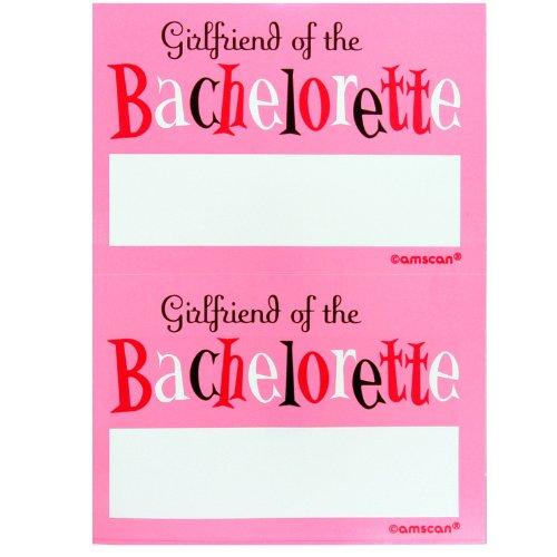 Bachelorette Party Name Tags 16 pcs - 1