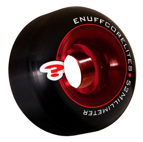 Enuff Corelites 52mm Black/red Skateboard Wheels