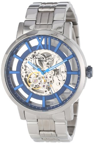 Kenneth Cole New York Men's KC9209 Transparency Automatic Roman Numeral Transparent Dial Watch