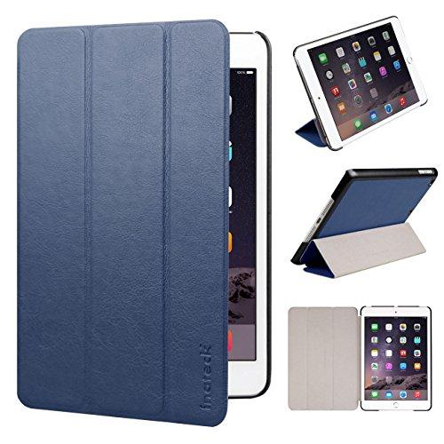 Inateck iPad mini 1/iPad mini2/iPad mini 3用スマートカバー 超薄型合皮レザーケース オートスリープ&ウェイクアップ機能付き (カラー:ブルー)