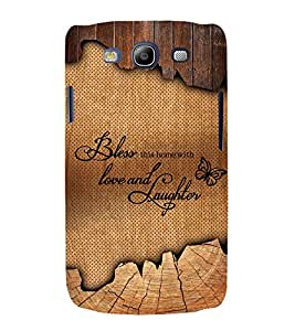 Bless Love Laughter 3D Hard Polycarbonate Designer Back Case Cover for Samsung Galaxy S3 Neo :: Samsung Galaxy S3 Neo i9300i