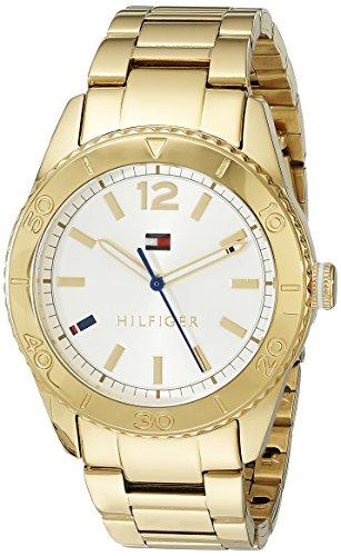 Tommy Hilfiger Damen-Armbanduhr Analog Quarz Edelstahl 1781268 thumbnail