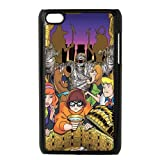 Customize ipod Touch 4 Cartoon Scooby Doo Case JNIPOD4-1364