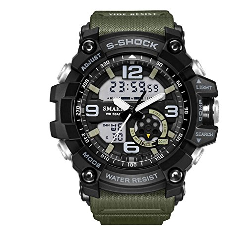 Military Digital Sports Watch
