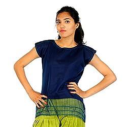 HastaVarna Designer Net silk Tops
